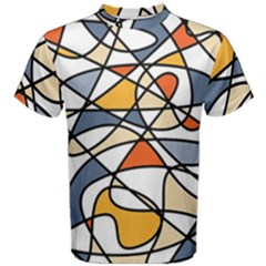 Abstract Background Abstract Men s Cotton Tee