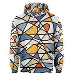 Abstract Background Abstract Men s Pullover Hoodie
