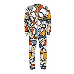 Abstract Background Abstract Onepiece Jumpsuit (kids)