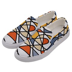 Abstract Background Abstract Men s Canvas Slip Ons by Nexatart