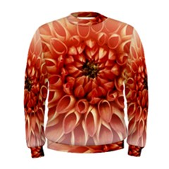 Dahlia Flower Joy Nature Luck Men s Sweatshirt