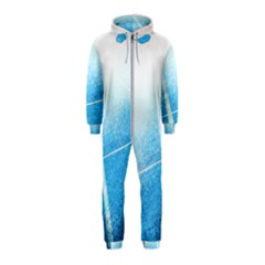 Court Sport Blue Red White Hooded Jumpsuit (kids)