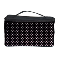 Halftone Background Pattern Black Cosmetic Storage Case