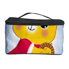 Bear Strawberries Cosmetic Storage Case by Nexatart