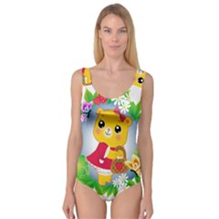 Bear Strawberries Princess Tank Leotard