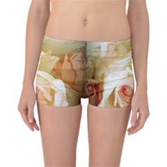 Roses Vintage Playful Romantic Boyleg Bikini Bottoms