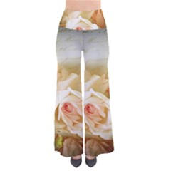 Roses Vintage Playful Romantic Pants