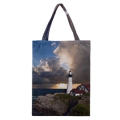 Lighthouse Beacon Light House Classic Tote Bag