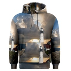 Lighthouse Beacon Light House Men s Pullover Hoodie