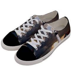 Lighthouse Beacon Light House Women s Low Top Canvas Sneakers by Nexatart