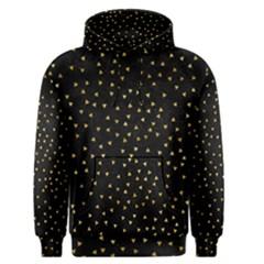 Grunge Pattern Black Triangles Men s Pullover Hoodie