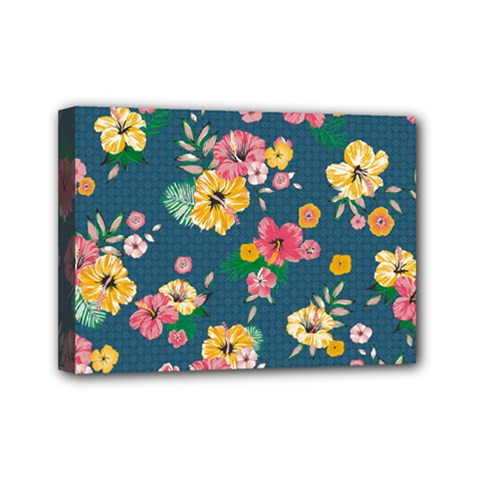 Aloha Hawaii Flower Floral Sexy Mini Canvas 7  X 5  by Mariart