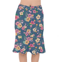 Aloha Hawaii Flower Floral Sexy Mermaid Skirt by Mariart