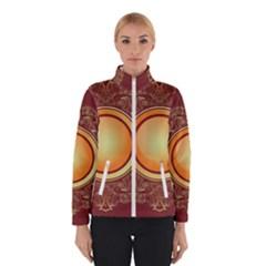 Badge Gilding Sun Red Oriental Winterwear
