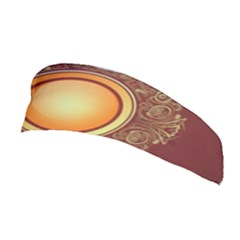 Badge Gilding Sun Red Oriental Stretchable Headband
