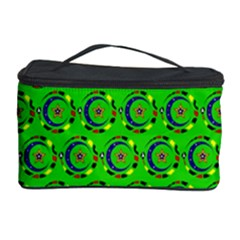 Abstract Art Circles Swirls Stars Cosmetic Storage Case
