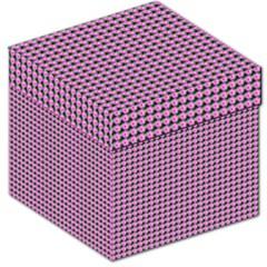 Pattern Grid Background Storage Stool 12