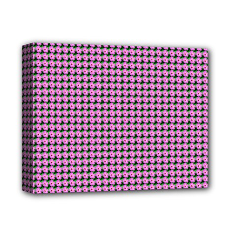 Pattern Grid Background Deluxe Canvas 14  X 11