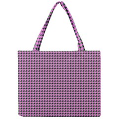Pattern Grid Background Mini Tote Bag