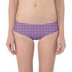 Pattern Grid Background Classic Bikini Bottoms