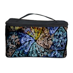 Multi Color Tile Twirl Octagon Cosmetic Storage Case