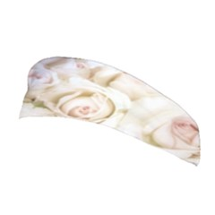 Pastel Roses Antique Vintage Stretchable Headband