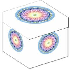 Mandala Universe Energy Om Storage Stool 12