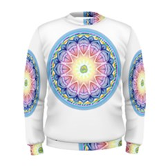 Mandala Universe Energy Om Men s Sweatshirt