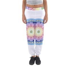 Mandala Universe Energy Om Women s Jogger Sweatpants