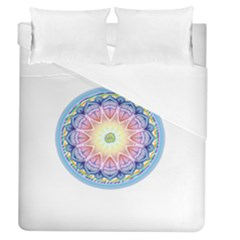 Mandala Universe Energy Om Duvet Cover (queen Size)