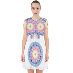 Mandala Universe Energy Om Adorable In Chiffon Dress