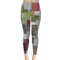 Decor Painting Design Texture Leggings