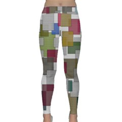 Decor Painting Design Texture Classic Yoga Leggings