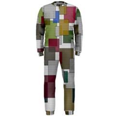 Decor Painting Design Texture Onepiece Jumpsuit (men)