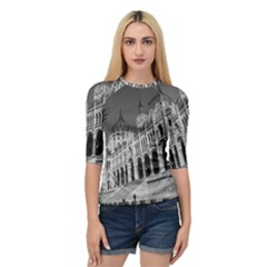 Architecture Parliament Landmark Quarter Sleeve Raglan Tee by Nexatart