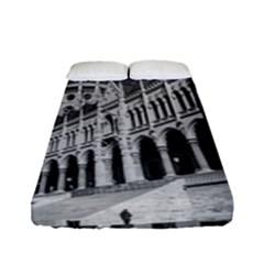 Architecture Parliament Landmark Fitted Sheet (full/ Double Size) by Nexatart