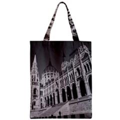 Architecture Parliament Landmark Zipper Classic Tote Bag