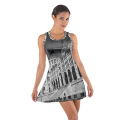Architecture Parliament Landmark Cotton Racerback Dress