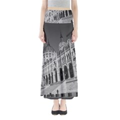 Architecture Parliament Landmark Full Length Maxi Skirt