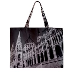 Architecture Parliament Landmark Zipper Medium Tote Bag by Nexatart