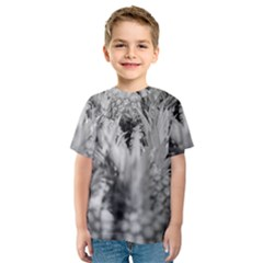 Pineapple Market Fruit Food Fresh Kids  Sport Mesh Tee