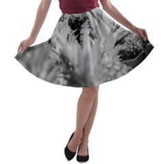 Pineapple Market Fruit Food Fresh A Line Skater Skirt