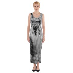 Pineapple Market Fruit Food Fresh Fitted Maxi Dress