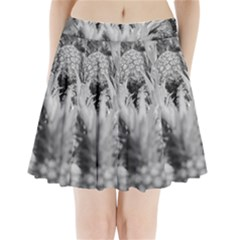 Pineapple Market Fruit Food Fresh Pleated Mini Skirt