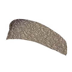 Leather Texture Brown Background Stretchable Headband