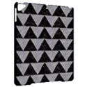 TRIANGLE2 BLACK MARBLE & GRAY COLORED PENCIL Apple iPad Pro 9.7   Hardshell Case View2