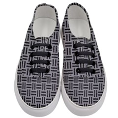 Woven1 Black Marble & Gray Colored Pencil (r) Women s Classic Low Top Sneakers
