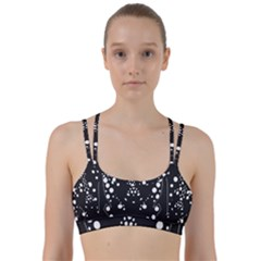 Helmet Original Diffuse Black White Space Line Them Up Sports Bra