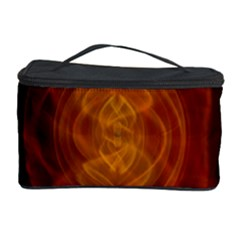 High Res Nostars Orange Gold Cosmetic Storage Case by Mariart