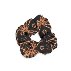 Golden Fire Pattern Polygon Space Velvet Scrunchie by Mariart